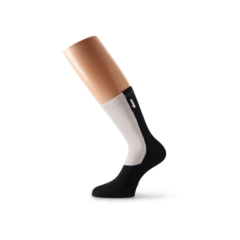 Assos Chaussettes FuguSpeer Blanche Panther