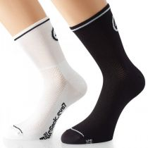 Assos Chaussettes MilleSock Evo7 Holy Blanches (2 paires)