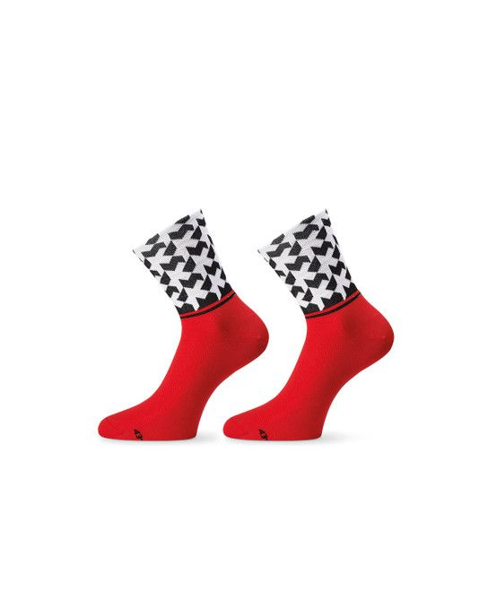 Assos Chaussettes MonogramSock Evo8 National Red