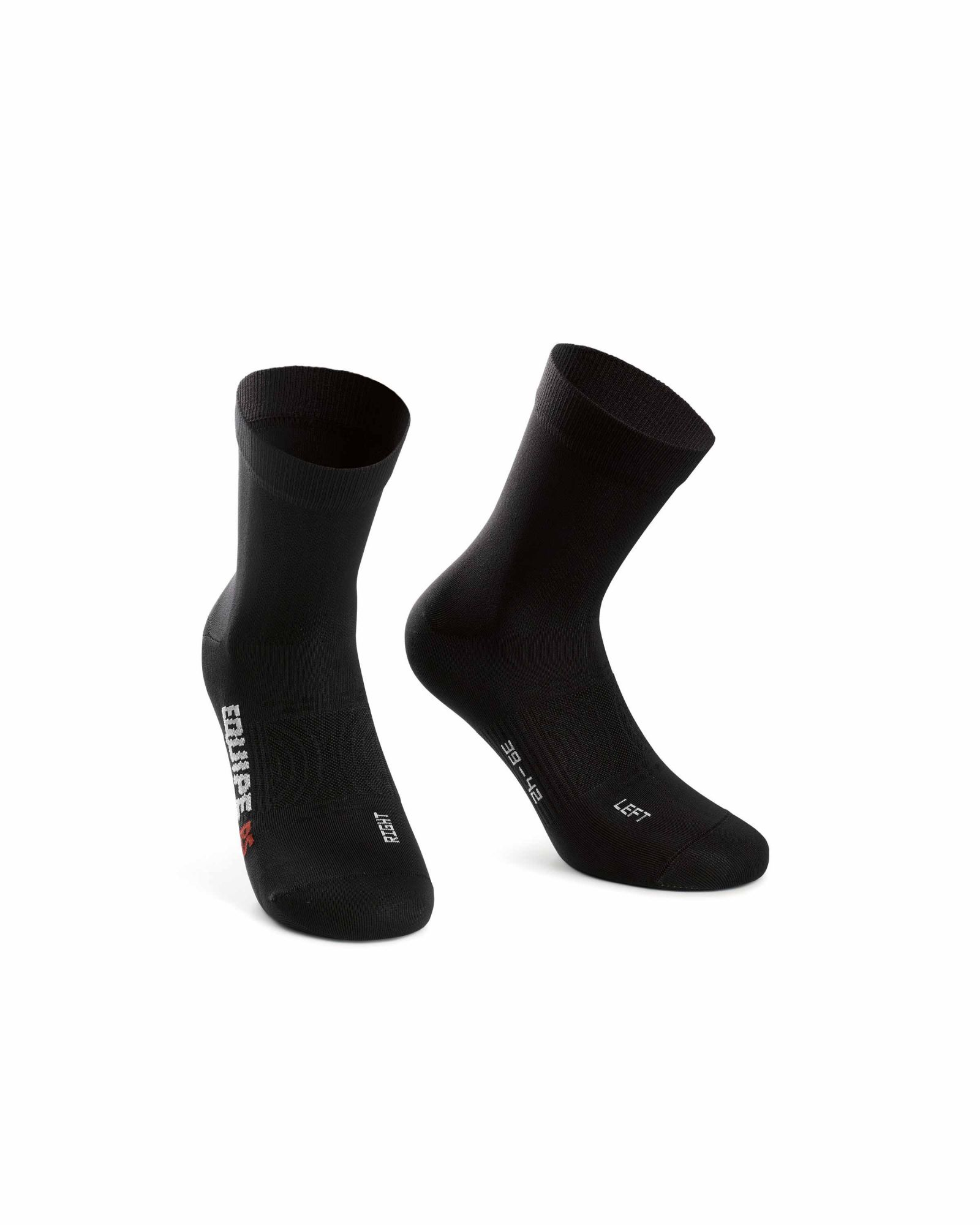Assos Chaussettes RS Socks ProfBlack (Noir)