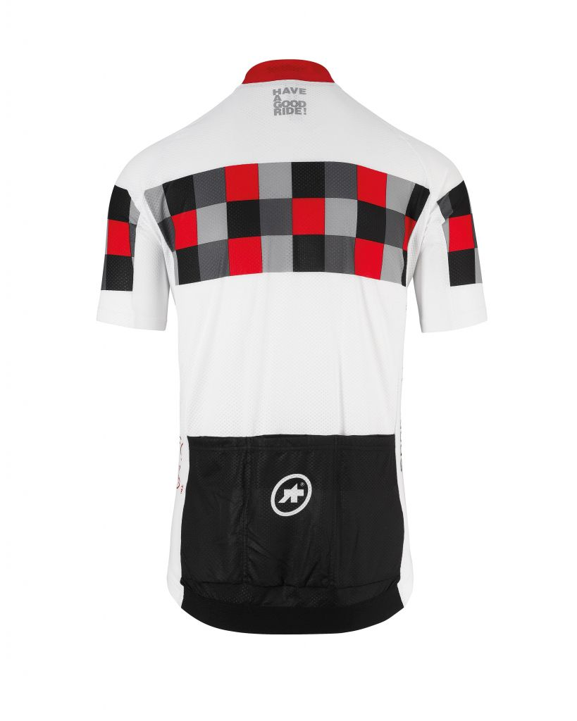 Assos Maillot Manches Courtes MILLE GT Short Sleeve Holy White