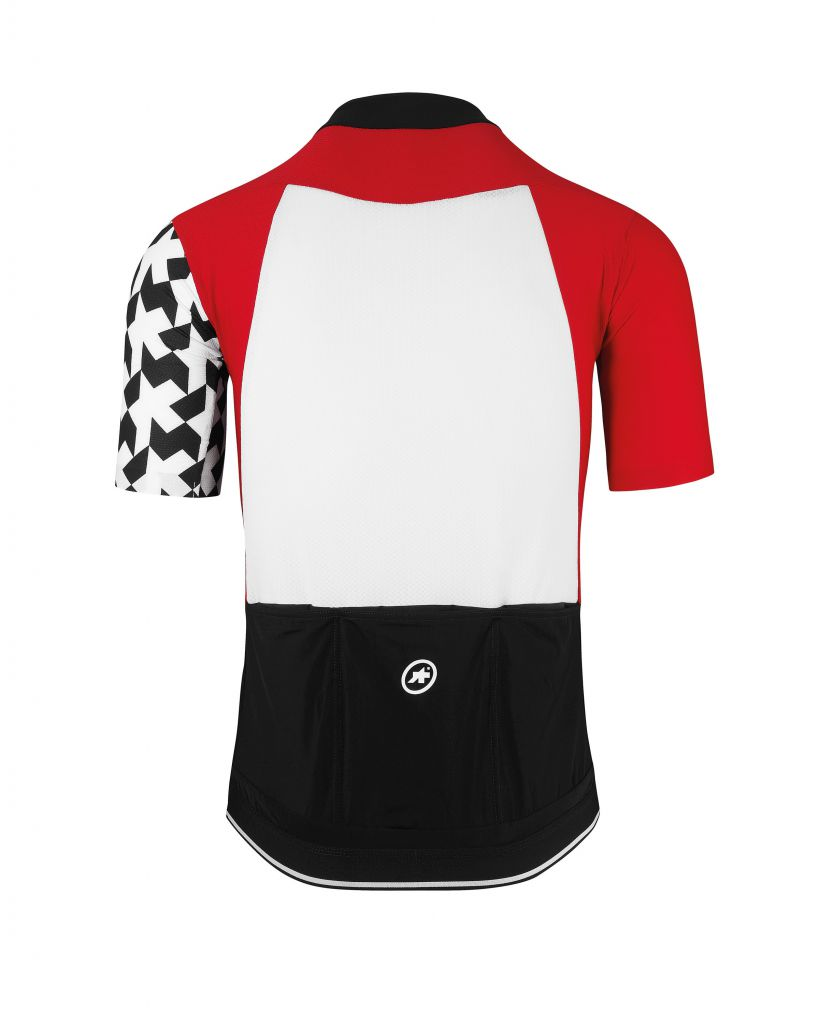 Assos Maillot Manches Courtes SS EQUIPE Jersey Evo8 Red