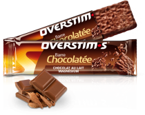 Barre OVERSTIMS Chocolat au lait - Magnésium