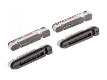 BBB Cartouches HP carbone UltraStop compat. Shi/sram/campa cartridges (4pcs)  Blanc / Gris