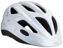 BBB Casque Hero (flash) swirl Blanc mat M