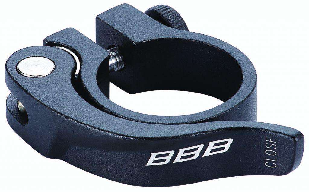BBB Collier de serrage rapide SmoothLever noir 28.6-31.8-34.9mm au choix