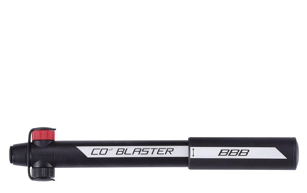 BBB Combinaison d\'un gonfleur Co2 et d\'une minipompe