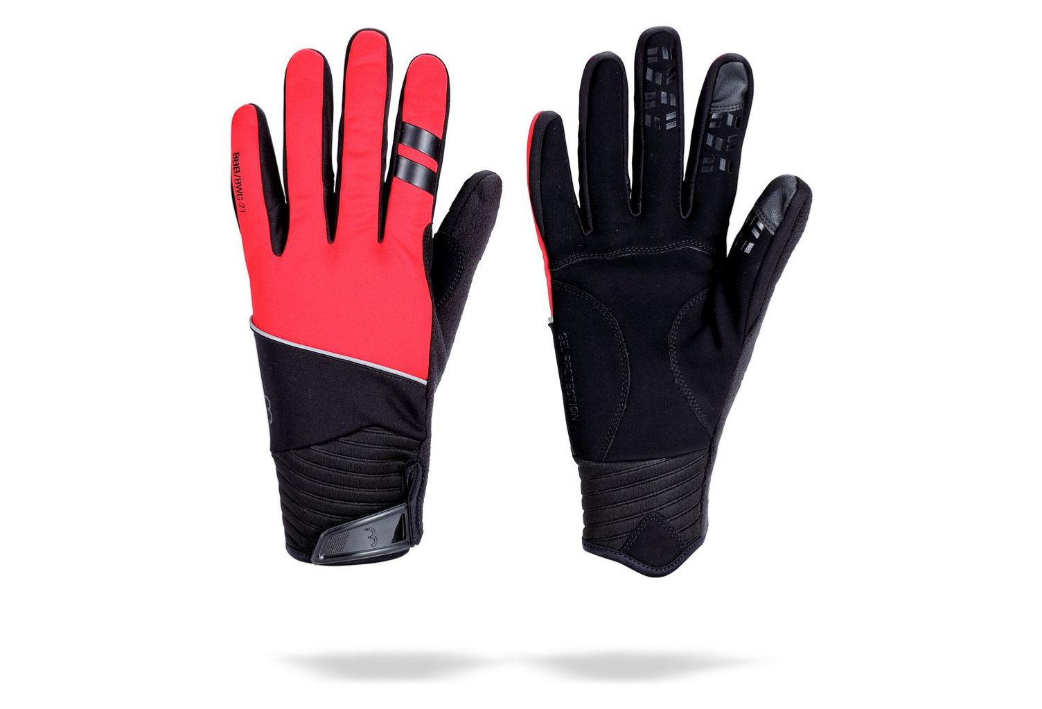 BBB Gants hiver ControlZone Rouge
