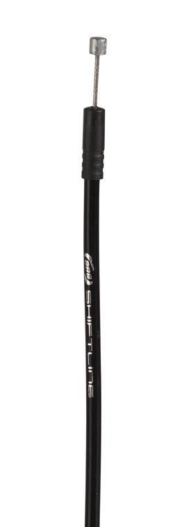 BBB Kit cablerie dérailleur ShiftLine noir compatible Shimano/Sram