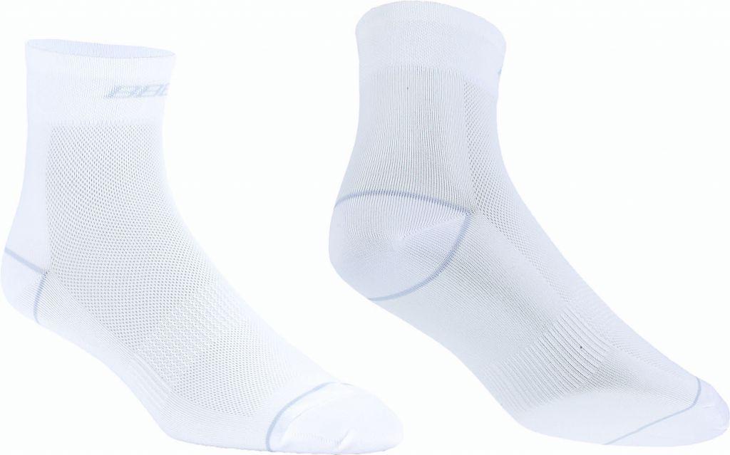 BBB Lot de 2 paires de Socquettes CombiFeet Coolmax BLANC