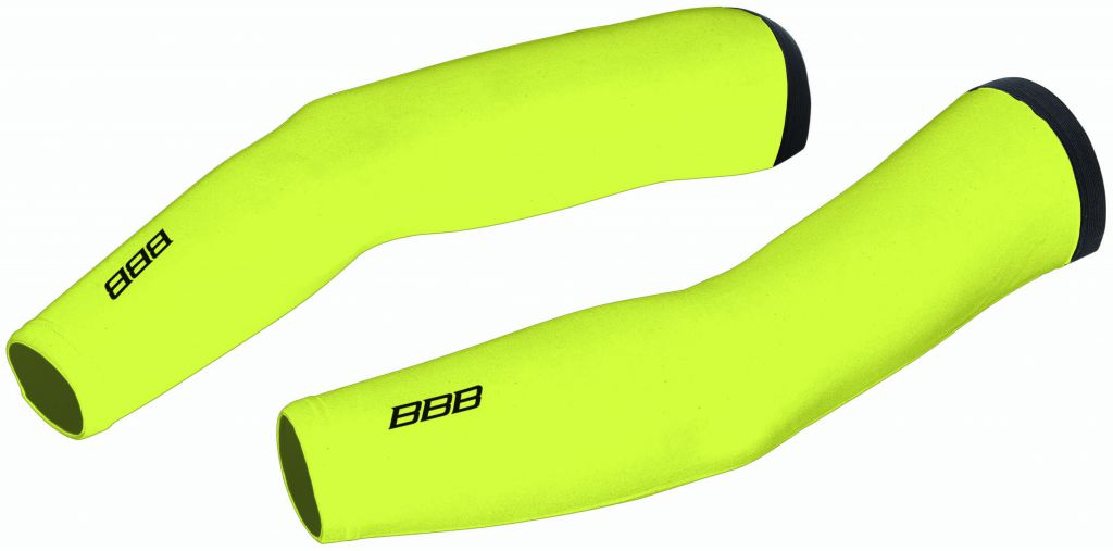 BBB Manchettes Thermo Fabric Jaune Fluo
