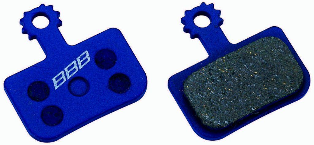 BBB Plaquette type Avid DB1/DB3 w/spring bleu