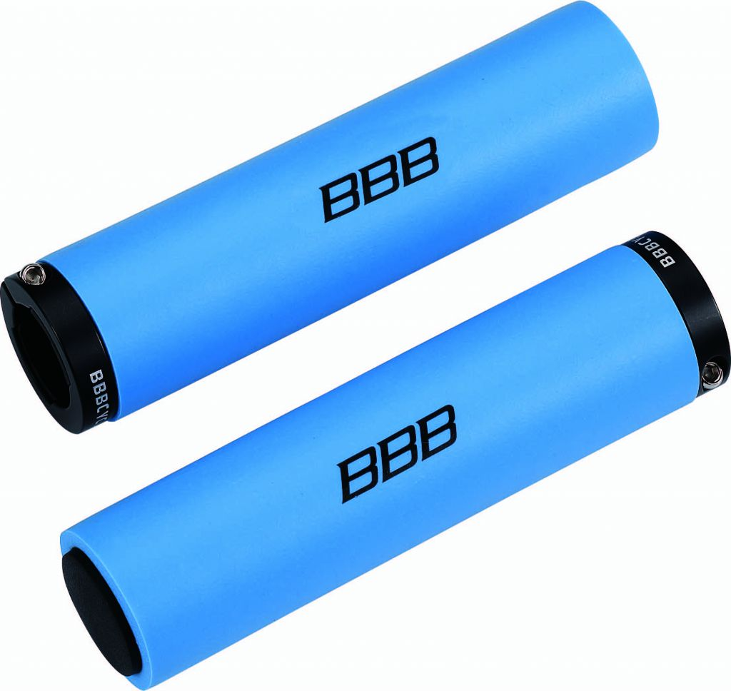 BBB Poignée StickyFix 130 mm  noir, bleu, rouge ou vert