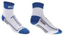 BBB Socquettes TechnoFeet Coolmax BLANC/BLEU
