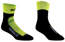 BBB Socquettes ThermoFeet Jaune Fluo