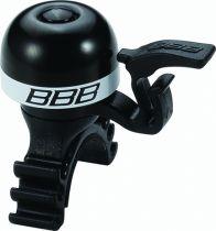 BBB Sonnette légère laiton MiniFit Noir/Blanc, Noir/Bleu, Noir/Rouge, Noir/Vert au choix