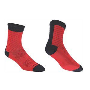 BBB Soquettes ThermoFeet Noir/Rouge