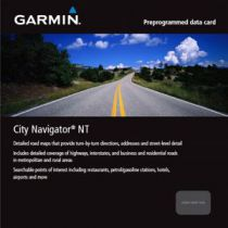 Carte Garmin City Navigator France & Benelux NT (DOM-TOM inclus)