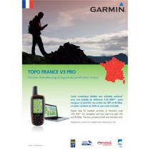 Carte Garmin Topo France v3 Pro (France entière) DVD avec carte microSD/SD pré-chargée