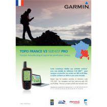 Carte Garmin Topo France v3 Sud-Est Pro DVD avec carte microSD/SD pré-chargée