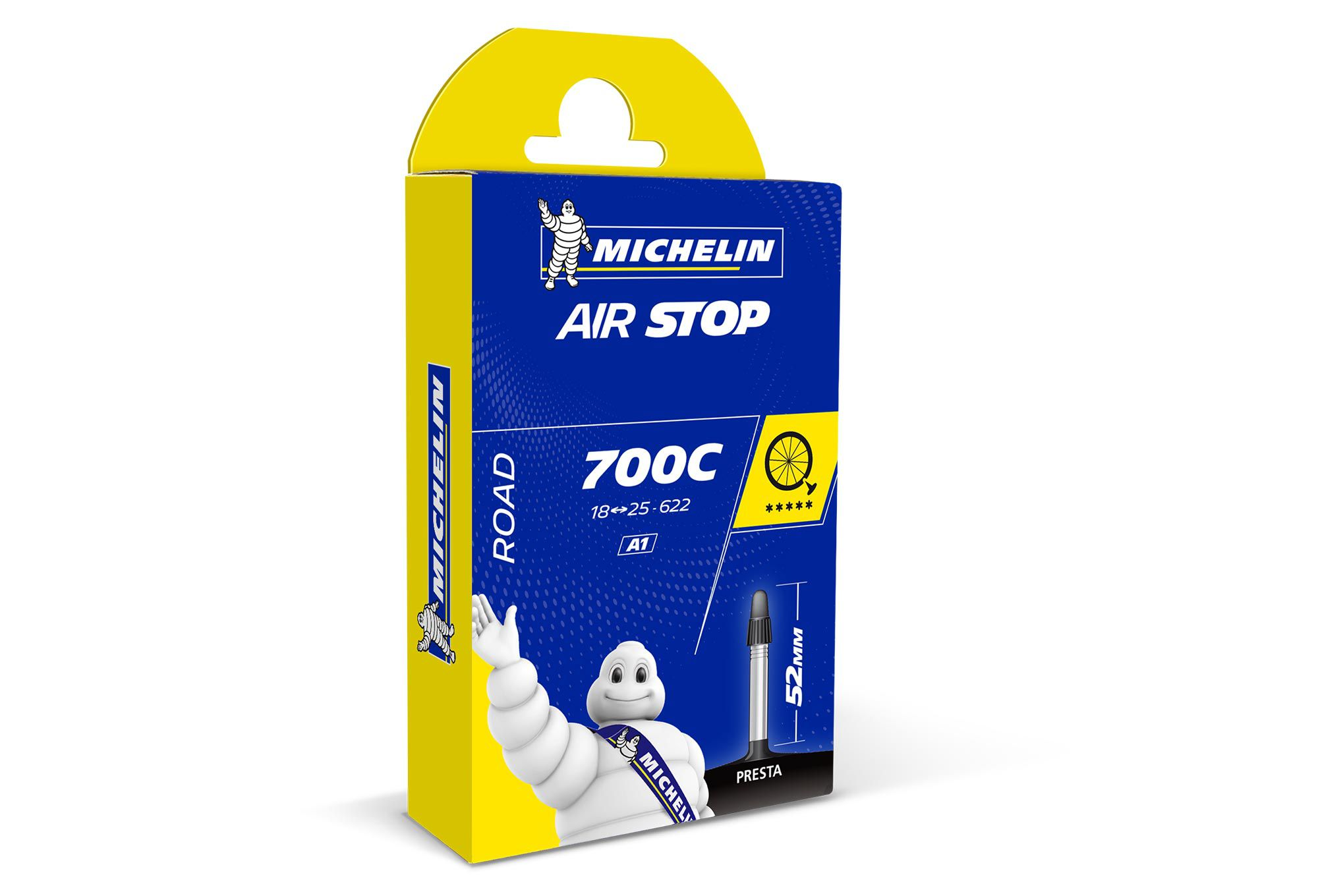 Chambre Michelin 700X18/25C Valve Longue 52mm