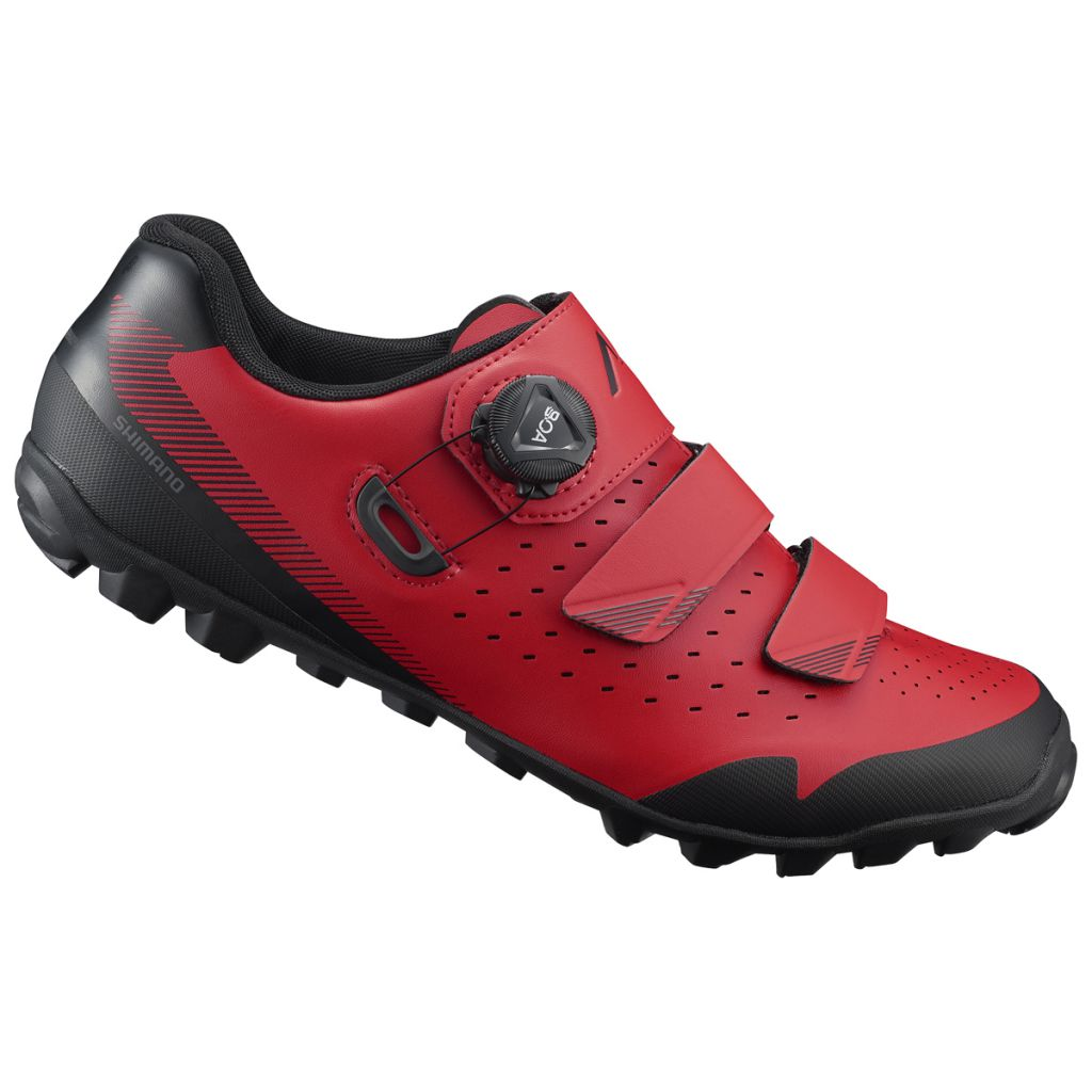 Chaussures Shimano VTT ME400 Rouge