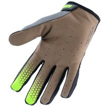 Gants VTT KENNY Enfant TRACK Long Grey/Lime