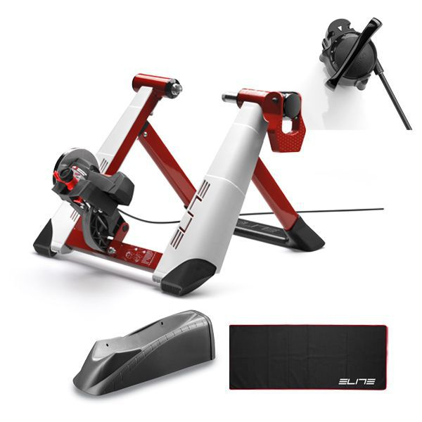 Home Trainer Elite Novo Force Pack avec Tapis et Travel Block inclus