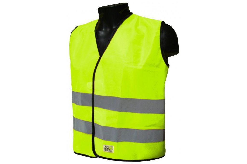 L2S Gilet  de sécurité enfant Visiokid jaune flash
