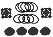 Lot de 2 Supports vélo (Elastiques + base) BRYTON 100/310/330/530