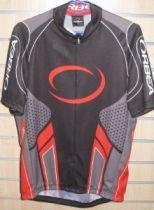MAILLOT ORBEA SPORT NOIR/ROUGE