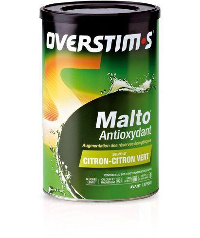 MALTO ANTIOXYDANT OVERSTIMS POT Citron-citron vert 500g