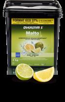 Malto Antioxydant OVERSTIMS Seau de 2kg Citron-Citron Vert