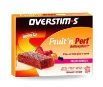 Overstim\'s Pâtes de fruits Fruit\'n PERF Antioxydant fruit rouge (étui de 4)