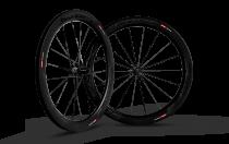 Paire de roues Carbone Scope 55mm R5c Shimano Largeur 26mm