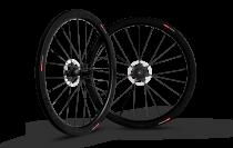 Paire de roues Carbone Scope à disque 45mm shimano