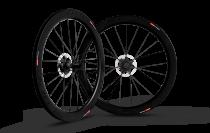 Paire de roues Carbone Scope à disque 55mm shimano
