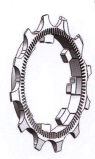 Pignons MICHE pour 11V CAMPAGNOLO départ, du 12 au 16 dents
