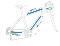 Protection Autocollante CLEAR PROTECT Pack Velo M (special cross country)
