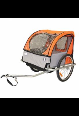 Attache remorque Velo pour remorque Enfant Partie Flexible Fixation sur la remorque Cycle P2R