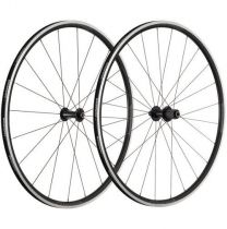 Roues VISION Team 25 Paire Noir/Gris Corps Shimano 10/11V