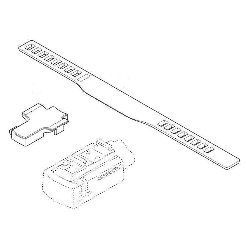 SHIMANO Collier/Elastique Maintien DI2 SM-EW90