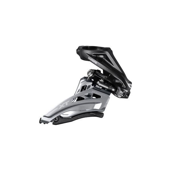 SHIMANO Dérailleur Avant Double FD-M8020 XT Collier Haut Tirage Latéral 11v