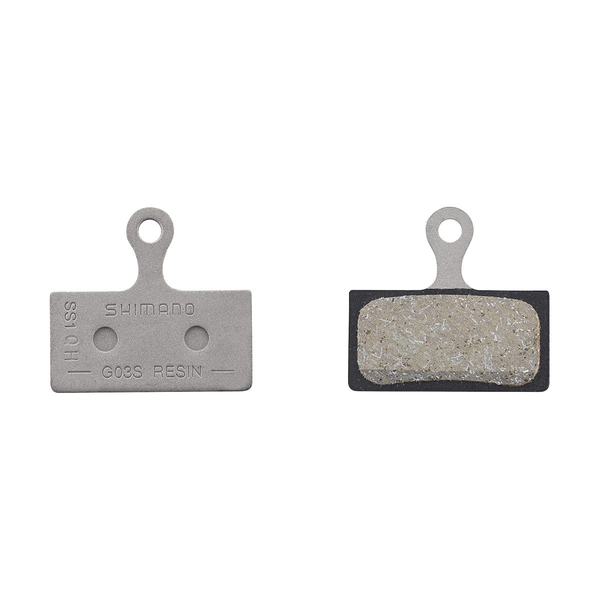Shimano Disc Brake Pad Set Resin G03S Incl Ressort/Vis Par 1 paire