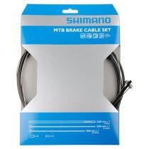 SHIMANO KIT CABLE+GAINE FREIN SUS TRANSMISSION VTT NOIRE