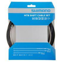 SHIMANO KIT CABLES et GAINES  DERAILLEUR SP41