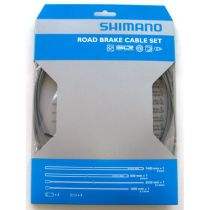 SHIMANO KIT CABLES et GAINES FREIN PTFE TRANSMISSION ROUTE GRISE