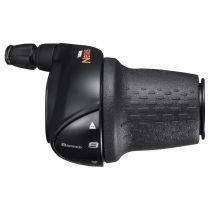 SHIMANO Manette De Vitesse Droite Noir SL-C6000-8 Nexus Pour CJ-8S20