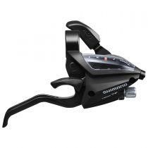 Shimano Manette Et Levier Droit 7v ST-EF500 2 Doigts Noir