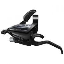 Shimano Manette Et Levier Gauche 3V ST-EF500 Noir